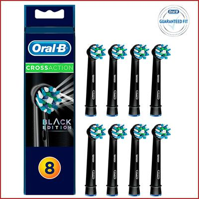 Oferta cabezales Oral-B CrossAction Black Edition baratos