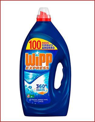 Oferta detergente líquido Wipp Express 100 lavados barato