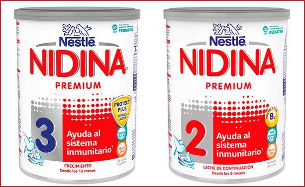 Oferta leche de continuación Nestlé Nidina Premium barata