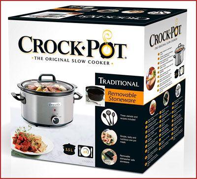 Oferta olla de cocción lenta Crock-Pot CSC025X barata