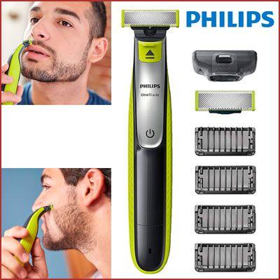Oferta recortador de barba Philips OneBlade Shaver barato