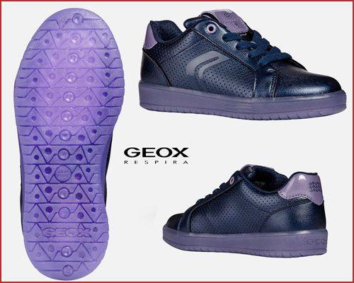Oferta zapatillas Geox J Kommodor Girl con luces baratas