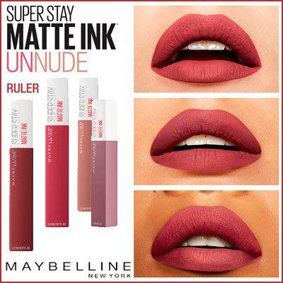 Oferta barras de labios Maybelline Superstay Matte Ink baratas