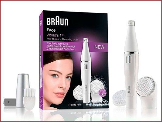 Oferta depiladora y limpiador facial Braun 820 Face