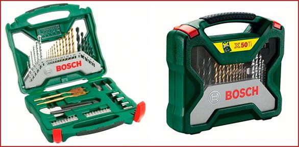 Oferta maletín Bosch X-Line Titanium de 50 piezas barato