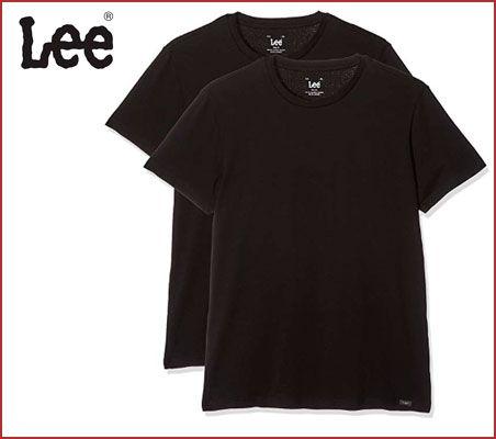 Oferta pack 2 camisetas Lee Twin Pack Crew baratas
