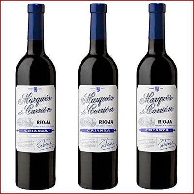 Oferta vino tinto Marqués de Carrión Crianza Rioja barato