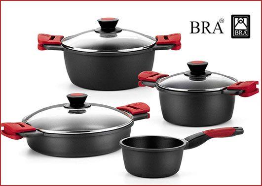 Oferta batería de cocina BRA Premiere 4 piezas barata