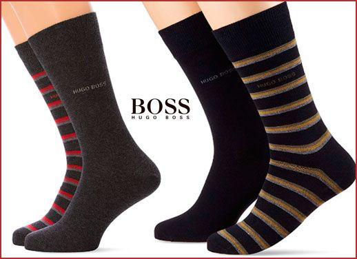 Oferta calcetines Hugo Boss Stripe baratos