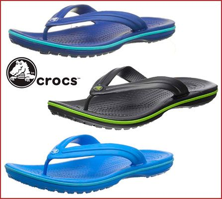 Oferta chanclas Crocs Crocband Flip baratas