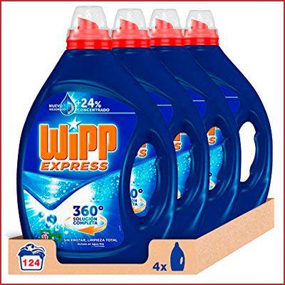Oferta detergente líquido Wipp Express 124 lavados