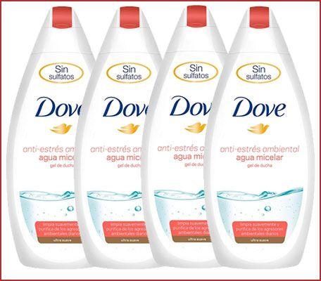 Oferta pack de 4 gel Dove Anti-Estrés Ambiental