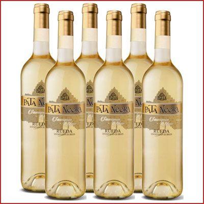 Oferta pack de 6 botellas Pata Negra Sauvignon Blanc