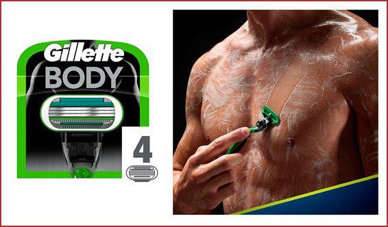 Recambios Gillette Body