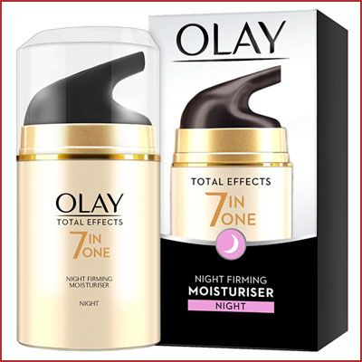 Oferta crema hidratante anti edad Olay Total effects 7 in 1 noche
