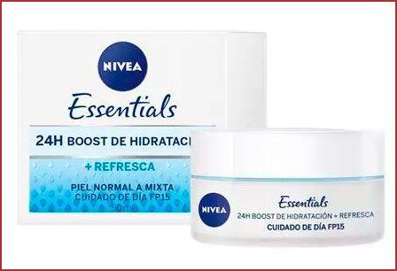 Oferta crema hidratante de día Essentials 24h Boost
