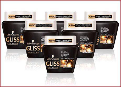 Oferta pack de 6 mascarilla Gliss Ultimate Repair