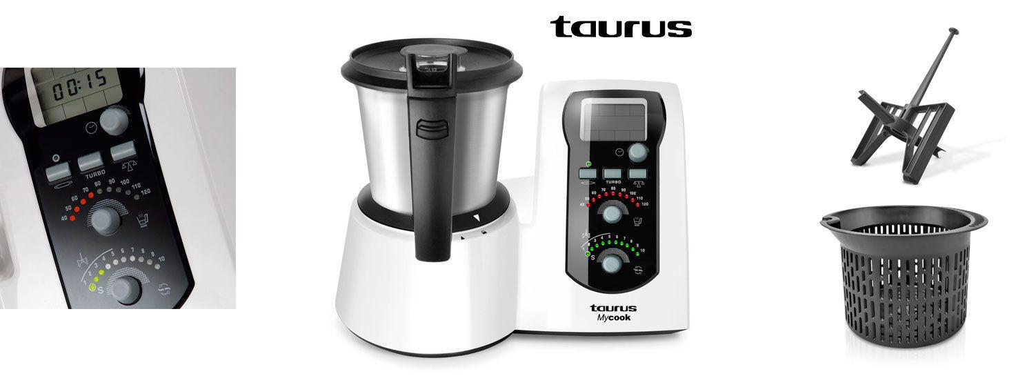 Oferta Robot De Cocina Taurus Mycook Easy Barato