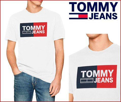 Oferta camiseta Tommy Hilfiger Essential barata, chollos ropa de marca barata Amazon