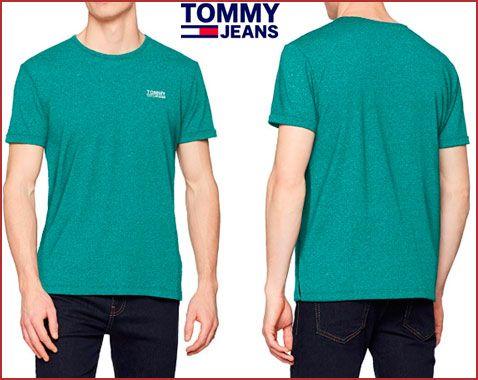 Oferta camiseta Tommy Hilfiger Modern Jaspe barata, chollos ropa de marca barata amazon