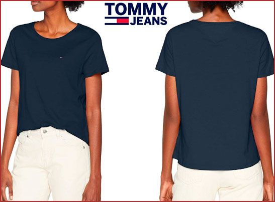 Oferta camiseta Tommy Hilfiger Soft barata, chollos ropa de marca barata amazon