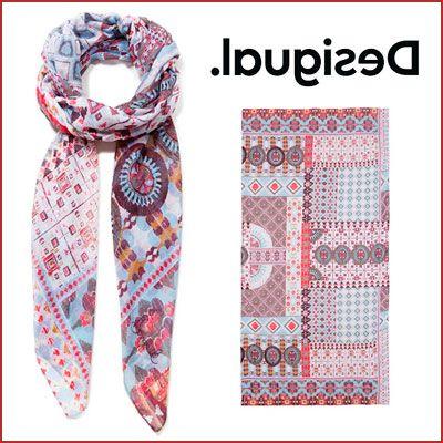 Oferta foulard Desigual Kendall barato, chollos ropa de marca barata