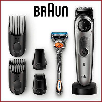 Oferta recortadora Braun BT7040 barata