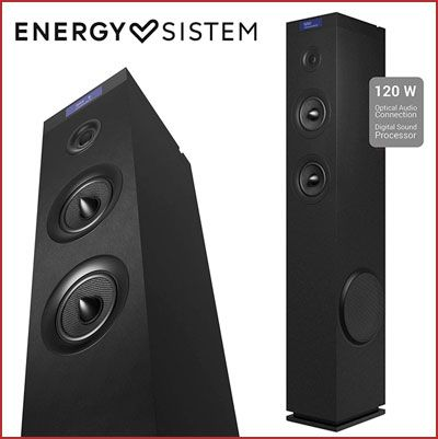 Oferta torre de sonido Energy Sistem Tower 8 G2 barata, chollos electronica