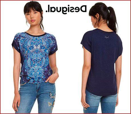 Oferta camiseta Desigual Navajos barata, chollos ropa de marca barata