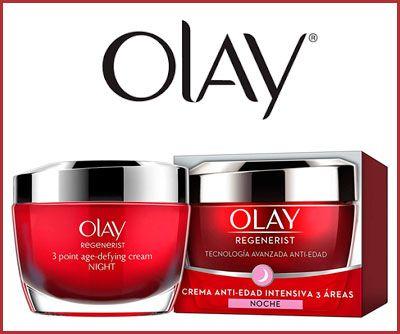 Oferta crema anti-edad Olay Regenerist 3 áreas noche barata amazon