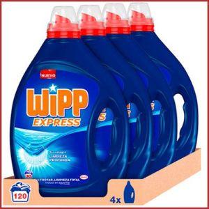 Oferta detergente líquido Wipp Express 120 lavados