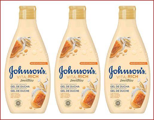 Oferta pack de 3 gel de ducha Johnson's Vita-Rich