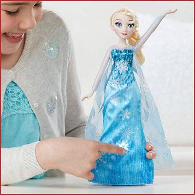Oferta Disney Forzen Elsa Vestido musical barato
