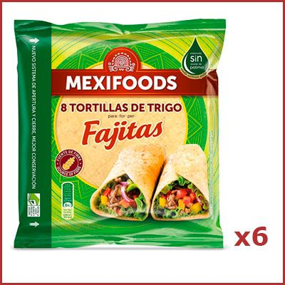 Oferta tortillas de trigo Mexifoods