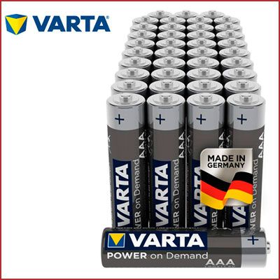 Oferta pilas VARTA Power On AAA