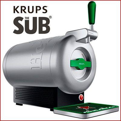 Oferta tirador de cerveza Krups The Sub Heineken barato
