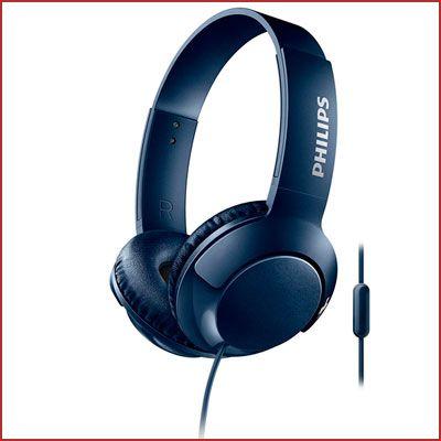 Oferta auriculares Philips Bass+ SHL3075BL