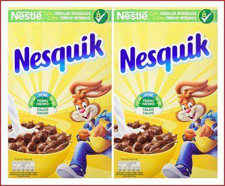 Oferta pack de 2 Cereales Nesquik con chocolate baratos