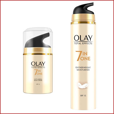 Promoción cremas Olay Total Effects en oferta del día en Amazon