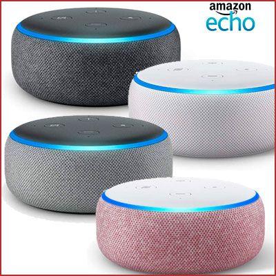 Oferta altavoz inteligente Echo Dot con Alexa barato