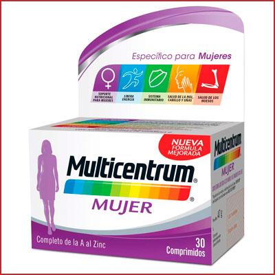 Oferta Multicentrum mujer 30 comprimidos barato
