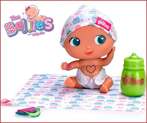 Oferta muñeco interactivo The Bellies Bobby Boo barato