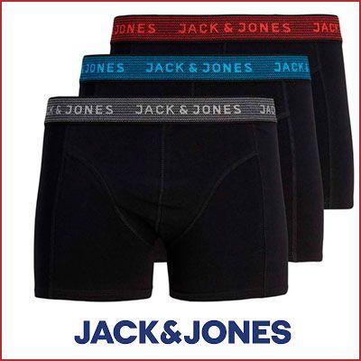 Oferta pack de 3 Bóxer JACK & JONES baratos