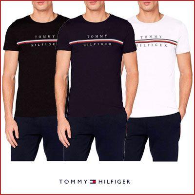 Oferta camiseta Tommy Hilfiger Corp Split