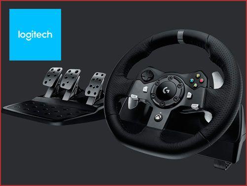 Oferta volante y pedales Logitech G920 barato