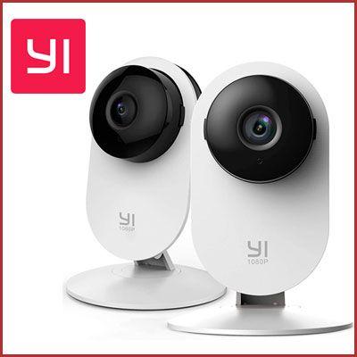 Oferta Kit de 2 cámara IP Yi Home 1080p baratas amazon