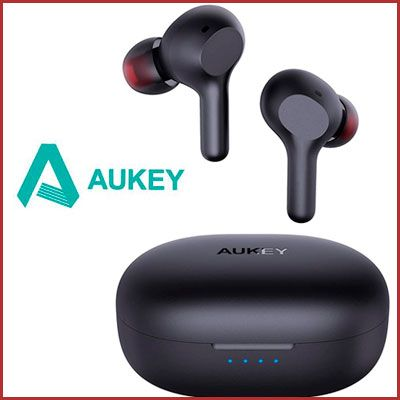 Oferta auriculares bluetooth Aukey IPX5 carga rápida