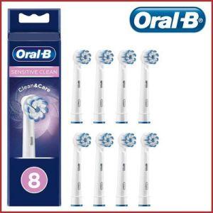 Oferta pack de 8 recambios Oral-B Sensitive Clean baratos amazon