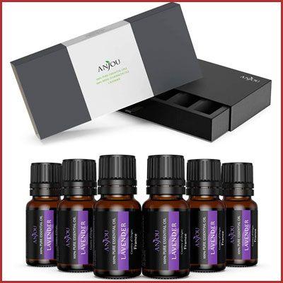 Oferta pack de 6 Anjou aceites esenciales lavanda