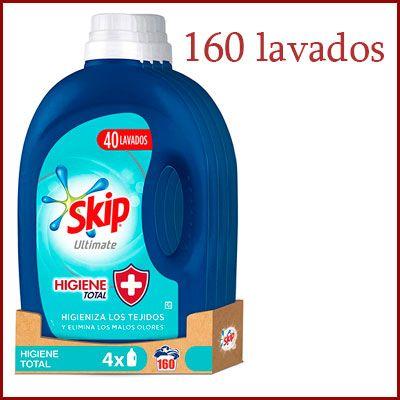 Oferta detergete líquido Skip Ultimate Higiene Total barato amazon
